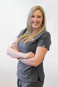 Samantha, front desk specialist